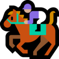 Horse Racing: Medium-Light Skin Tone on Microsoft Windows 10 October 2018 Update