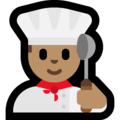 Man Cook: Medium Skin Tone on Microsoft Windows 10 October 2018 Update