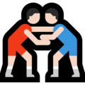 Men Wrestling, Type-1-2 on Microsoft Windows 10 October 2018 Update