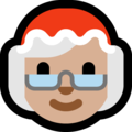 Mrs. Claus: Medium-Light Skin Tone on Microsoft Windows 10 October 2018 Update