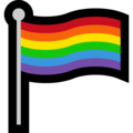 Rainbow Flag on Microsoft Windows 10 October 2018 Update