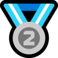2nd Place Medal on Microsoft Windows 10 October 2018 Update