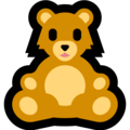 Teddy Bear on Microsoft Windows 10 October 2018 Update
