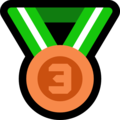 3rd Place Medal on Microsoft Windows 10 October 2018 Update