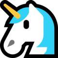 Unicorn Face on Microsoft Windows 10 October 2018 Update