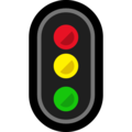 Vertical Traffic Light on Microsoft Windows 10 October 2018 Update