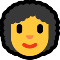 Woman: Curly Hair on Microsoft Windows 10 October 2018 Update