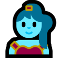 Woman Genie on Microsoft Windows 10 October 2018 Update