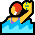 Woman Playing Water Polo on Microsoft Windows 10 October 2018 Update