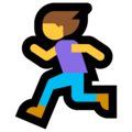 Woman Running on Microsoft Windows 10 October 2018 Update