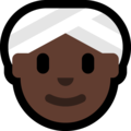 Woman Wearing Turban: Dark Skin Tone on Microsoft Windows 10 October 2018 Update