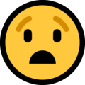 Anguished Face on Microsoft Windows 10 May 2019 Update