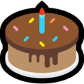 Birthday Cake on Microsoft Windows 10 May 2019 Update