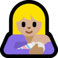 Breast-Feeding: Medium-Light Skin Tone on Microsoft Windows 10 May 2019 Update