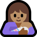 Breast-Feeding: Medium Skin Tone on Microsoft Windows 10 May 2019 Update