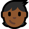 Child: Medium-Dark Skin Tone on Microsoft Windows 10 May 2019 Update