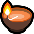 Diya Lamp on Microsoft Windows 10 May 2019 Update