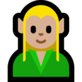 Elf: Medium-Light Skin Tone on Microsoft Windows 10 May 2019 Update