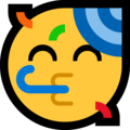Partying Face on Microsoft Windows 10 May 2019 Update