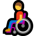 Man in Manual Wheelchair on Microsoft Windows 10 May 2019 Update