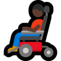 Man in Motorized Wheelchair: Dark Skin Tone on Microsoft Windows 10 May 2019 Update