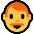 Man: Red Hair on Microsoft Windows 10 May 2019 Update
