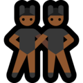 Men With Bunny Ears Partying, Type-5 on Microsoft Windows 10 May 2019 Update