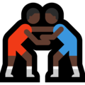 Men Wrestling, Type-6 on Microsoft Windows 10 May 2019 Update