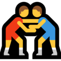 Men Wrestling on Microsoft Windows 10 May 2019 Update