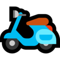 Motor Scooter on Microsoft Windows 10 May 2019 Update