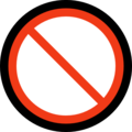 Prohibited on Microsoft Windows 10 May 2019 Update