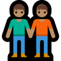 People Holding Hands: Medium Skin Tone on Microsoft Windows 10 May 2019 Update