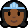Princess: Medium-Dark Skin Tone on Microsoft Windows 10 May 2019 Update