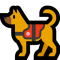 Service Dog on Microsoft Windows 10 May 2019 Update