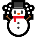 Snowman on Microsoft Windows 10 May 2019 Update