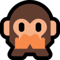 Speak-No-Evil Monkey on Microsoft Windows 10 May 2019 Update