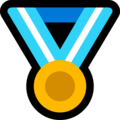 Sports Medal on Microsoft Windows 10 May 2019 Update