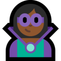 Supervillain: Medium-Dark Skin Tone on Microsoft Windows 10 May 2019 Update