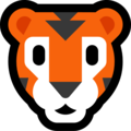 Tiger Face on Microsoft Windows 10 May 2019 Update