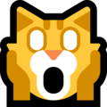 Weary Cat Face on Microsoft Windows 10 May 2019 Update