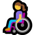 Woman in Manual Wheelchair on Microsoft Windows 10 May 2019 Update