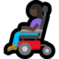 Woman in Motorized Wheelchair: Dark Skin Tone on Microsoft Windows 10 May 2019 Update