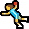 Woman Playing Handball on Microsoft Windows 10 May 2019 Update