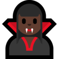 Woman Vampire: Dark Skin Tone on Microsoft Windows 10 May 2019 Update