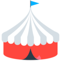 Circus Tent on Mozilla Firefox OS 2.5