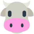 Cow Face on Mozilla Firefox OS 2.5