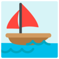 Sailboat on Mozilla Firefox OS 2.5