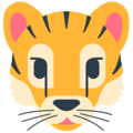 Tiger Face on Mozilla Firefox OS 2.5