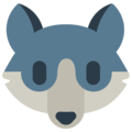 Wolf Face on Mozilla Firefox OS 2.5