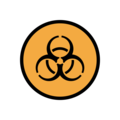 Biohazard on OpenMoji 12.0